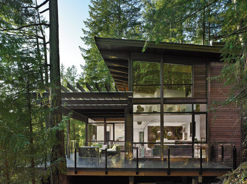 Into the woods gambier island house