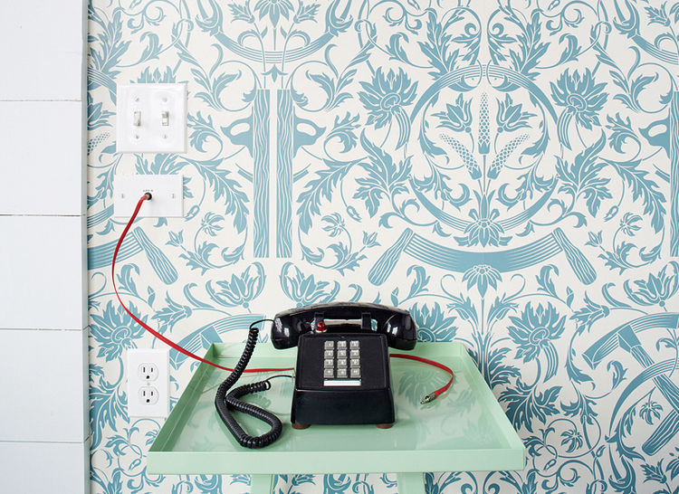 A telephone in the Wythe Hotel