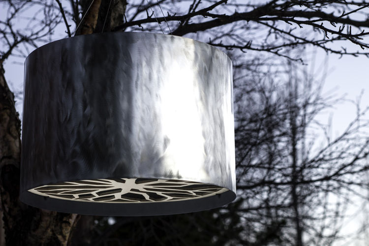 Winter Treeline lamp by Ellen Tyler