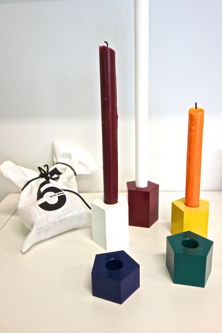 5 candleholders by So by Sonja