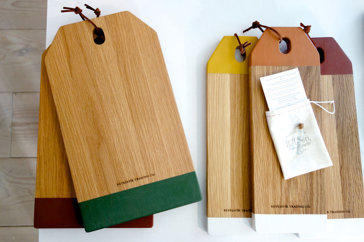 Cutting boards by Reykjavik Trading Co.