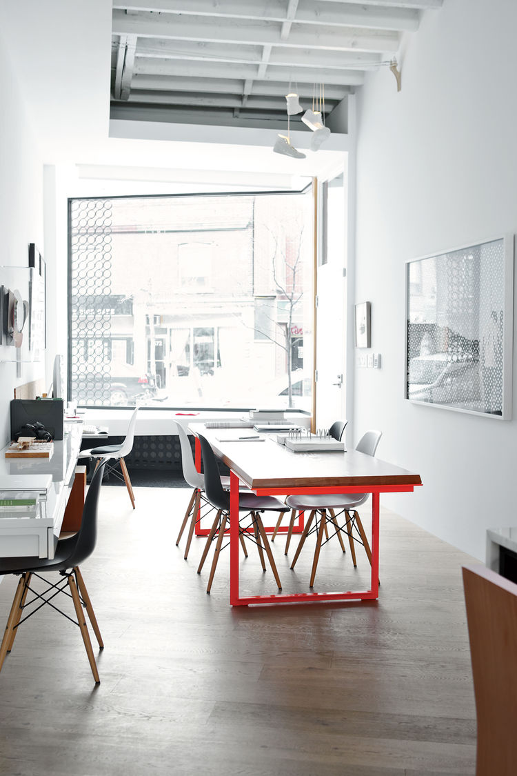 Modern live work space in Toronto