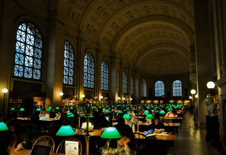 Boston Public Library in Boston