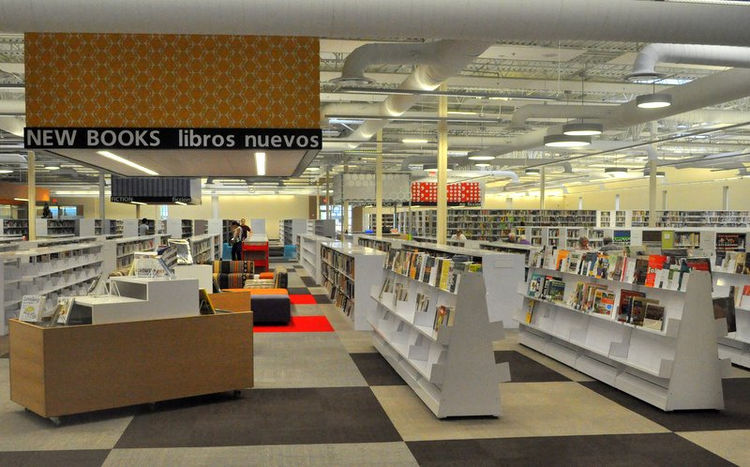 McAllen Public Library in McAllen, Texas