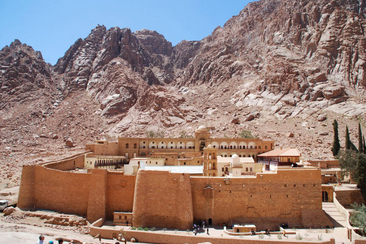 St. Catherine's Monastery in South Sinai, Egypt