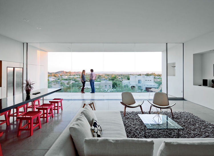 Living room in Phoenix, Arizona