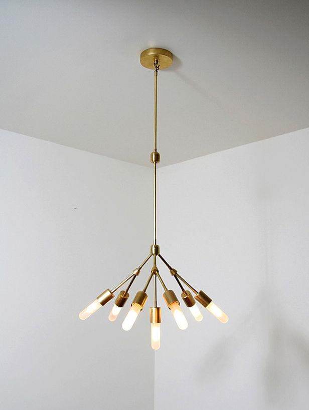 Seven lighting fixture by Raymond Barberousse