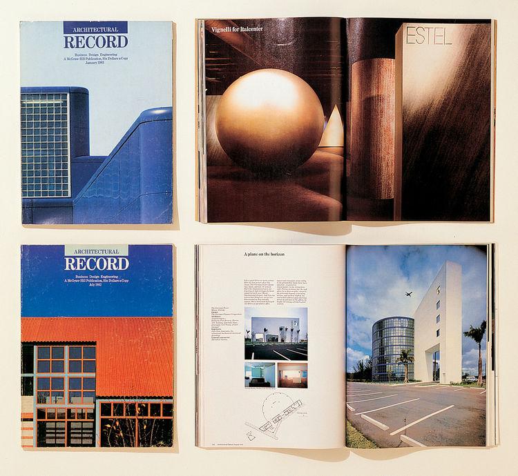 Architectural Record design by Vignelli