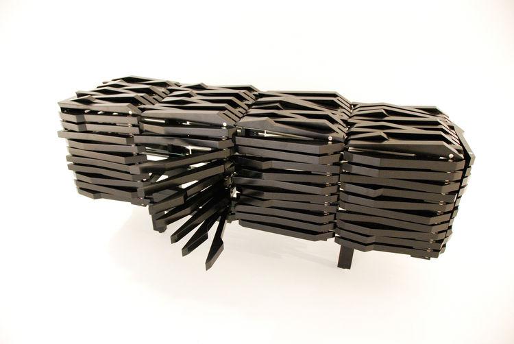 Porcupine Cabinet by Sebastian Errazuriz