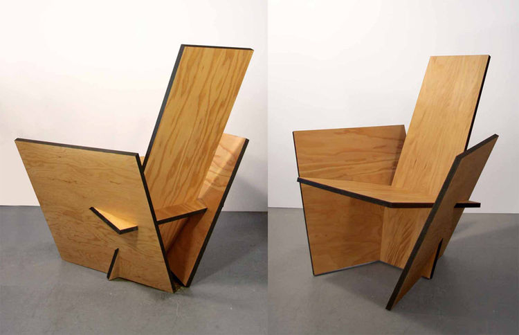 Planar Chair by Bade Stageberg Cox