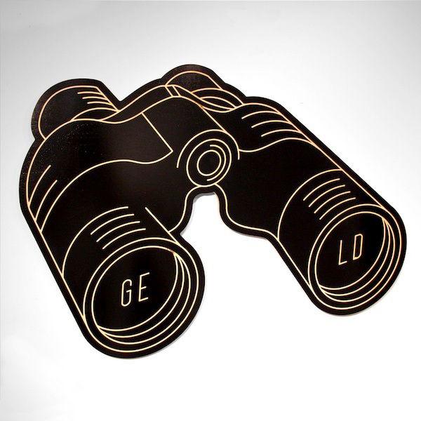 Binoculars by Jordan Metcalf