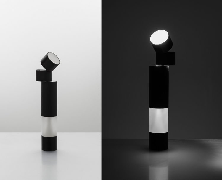 New lighting introduction at 2013 Euroluce; a table lamp by Jean Nouvel for Artemide.