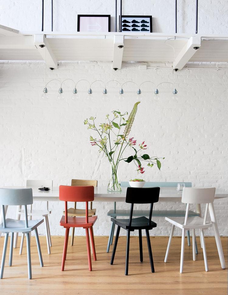 Brouwersgracht apartment dining room