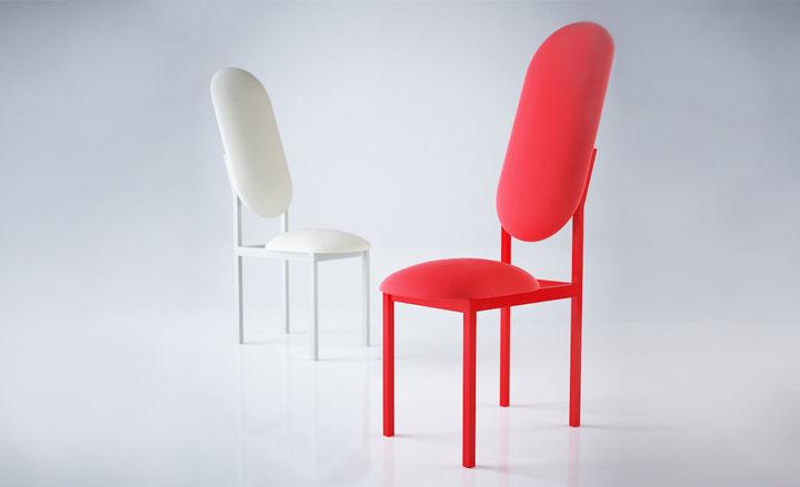 Studio Mama's Nina Tolstrup designed new upholstered furniture for her 19 Greek Street collection with fashion designer Marc Jacobs.