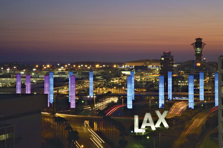 Lax airport made in la