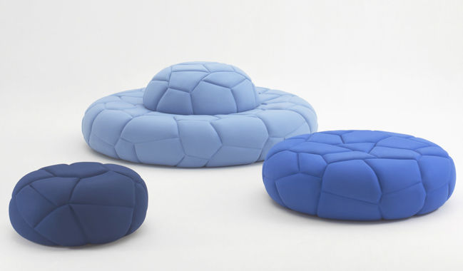 Bubbles cushion by busk + hertzog.