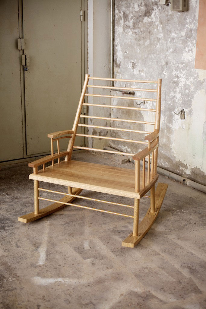 Chinaman File Rocking Chair by Trent Jansen