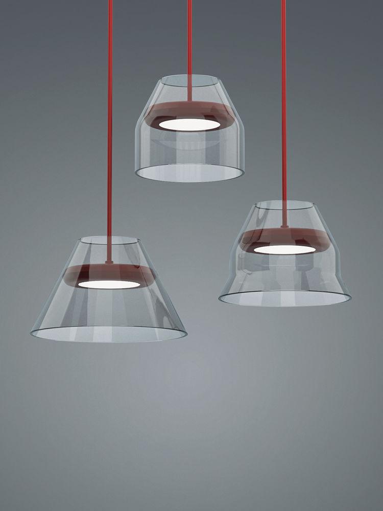 bonne chance glass suspension lights