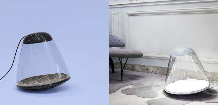 Apollo floor lamp by Dan Yeffet & Lucie Koldova for La Chance