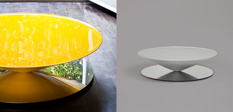Float coffee table by Luca Nichetto for La Chance