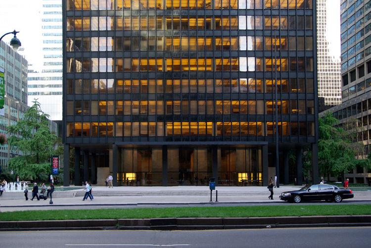 Seagram Building in New York, New York