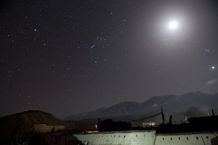 Lo Manthang night sky