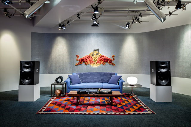 Red Bull Music Academy lecture room