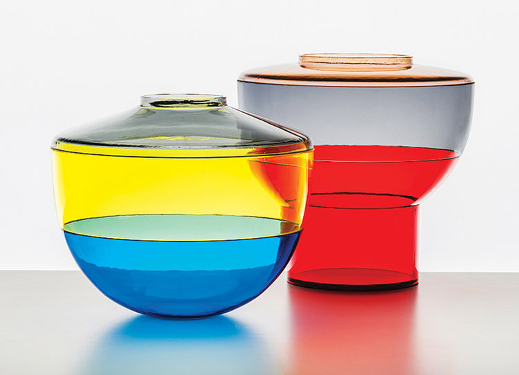 Shibuya vases by Christophe Pillet for Kartell
