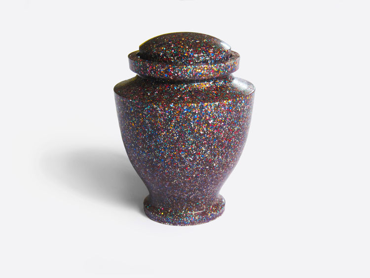 Glittering Urn by Louie Rigano