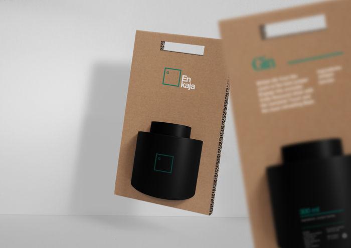 Enkaja Cocktail Mixer packaging by TATABI Studio