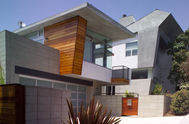Modern home with addition in Los Angeles