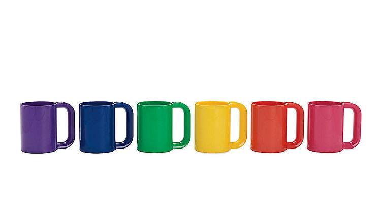 Rainbow mugs