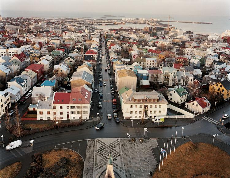 reykjavik iceland waterfront
