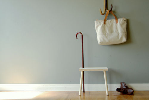 Cane & Able stool