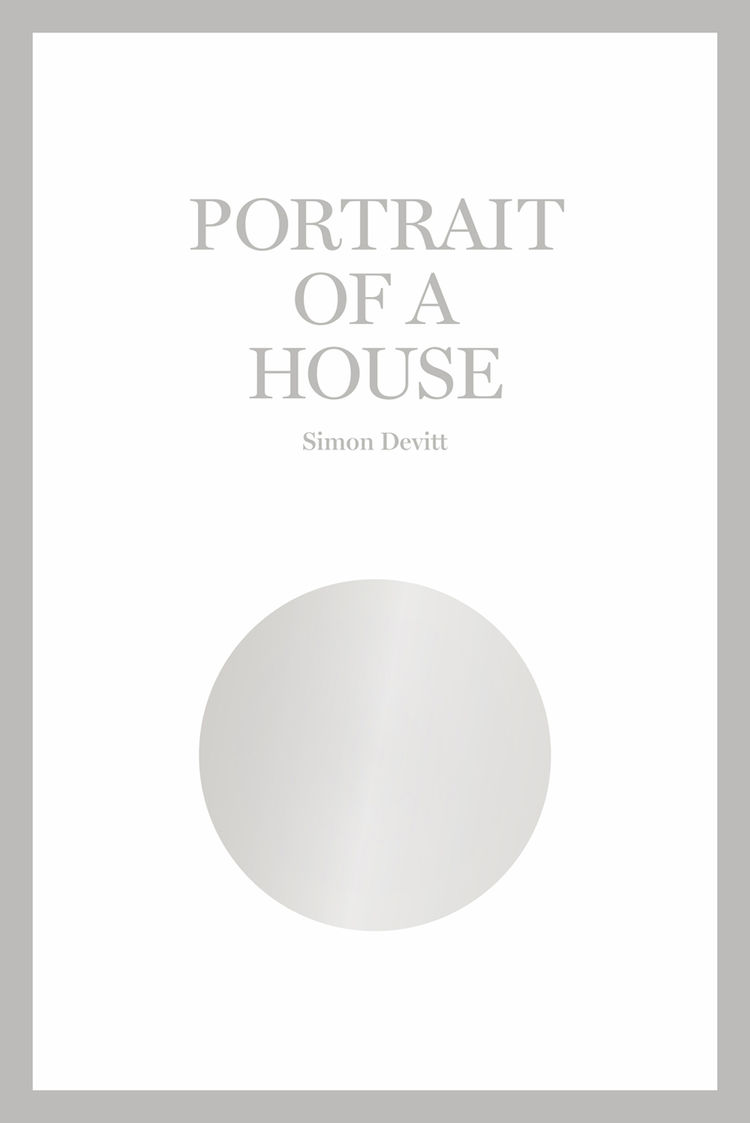 Cover of Simon Devitt's new book <i>Portrait of a House</i> of photographs of Athfield House in Wellington, New Zealand.