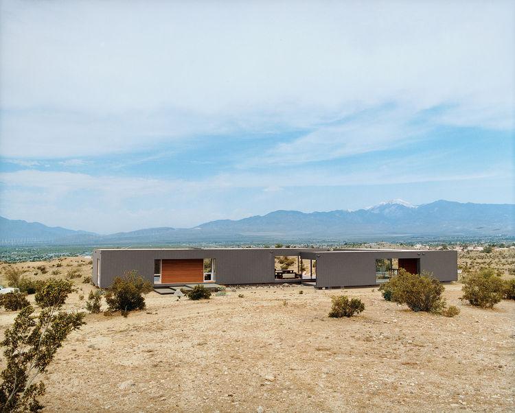 desert house exterior