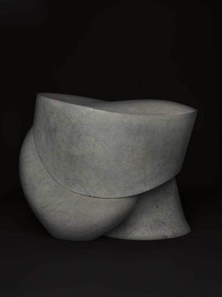 three pair stone stool aldo bakker