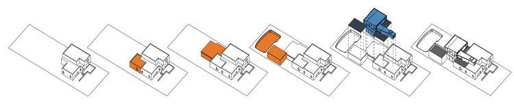 Diagram of Los Feliz House.