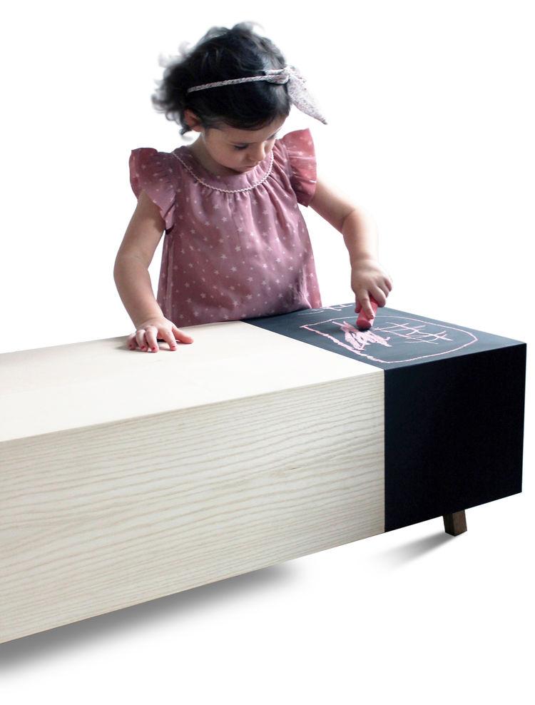 Scribble chalkboard coffee table by Timothy Ben