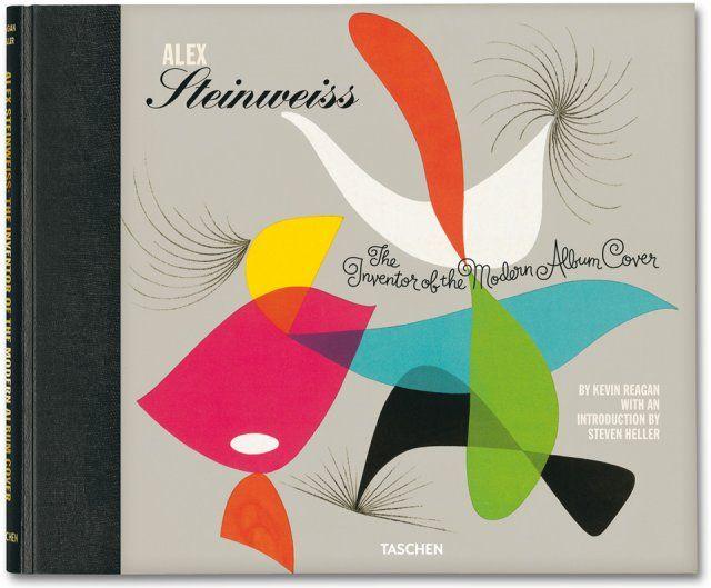 A book on art director Alex Steinweiss for TASCHEN