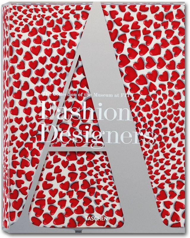 Fashion Designers A to Z designed by art director Josh Baker for TASCHEN
