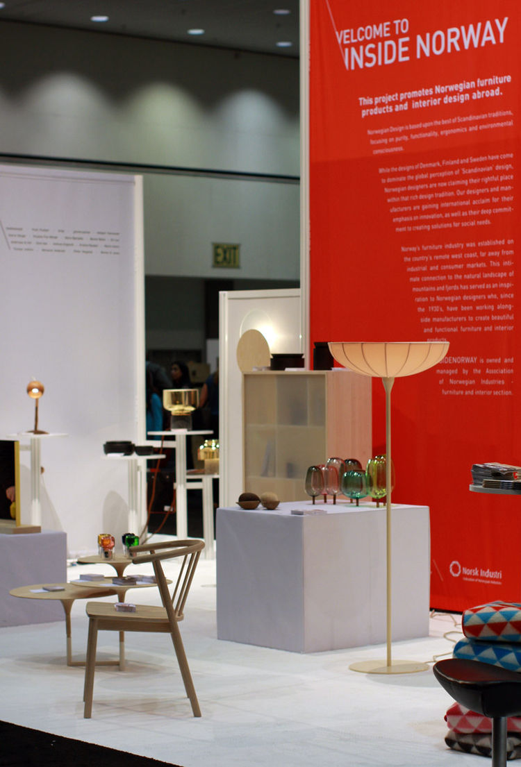 Insidenorway Booth at Dwell on Design