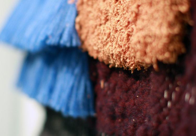 Yarn detail of Brook&lyn weaving