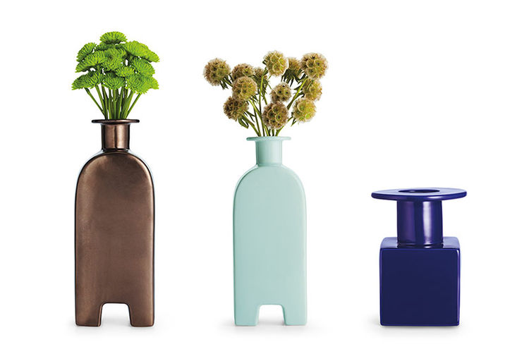 Vases by Donald Strum for Michael Graves