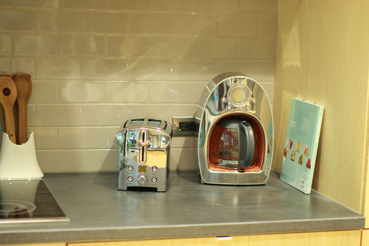 Michael Graves toaster and coffeemaker