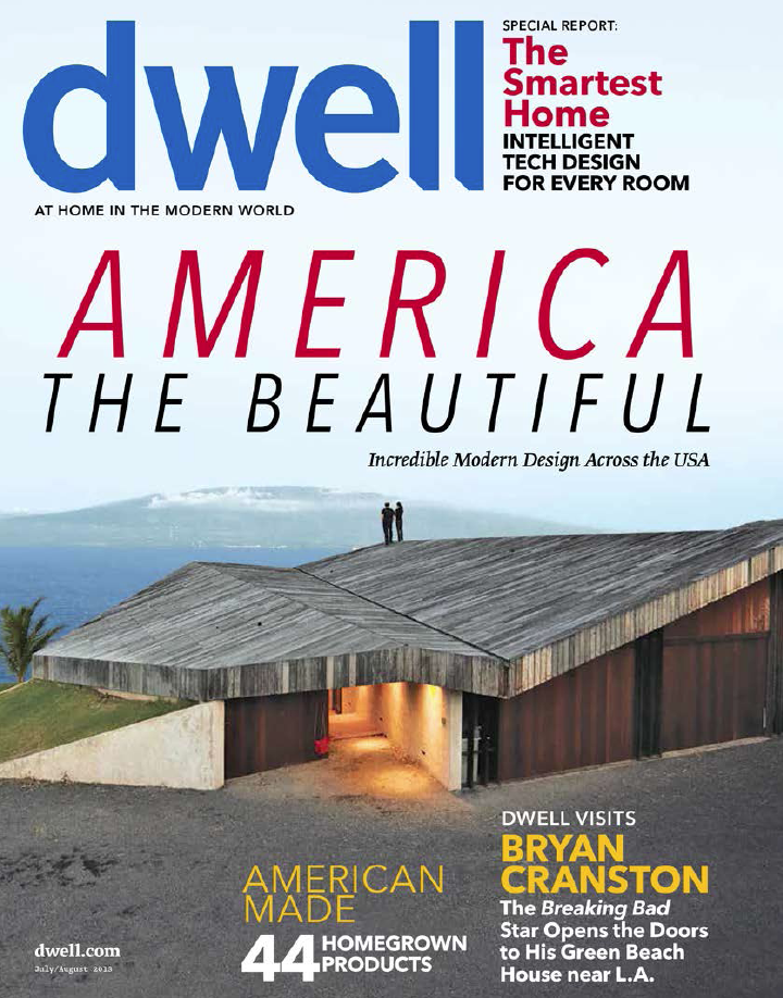 July/August cover of Dwell magazine