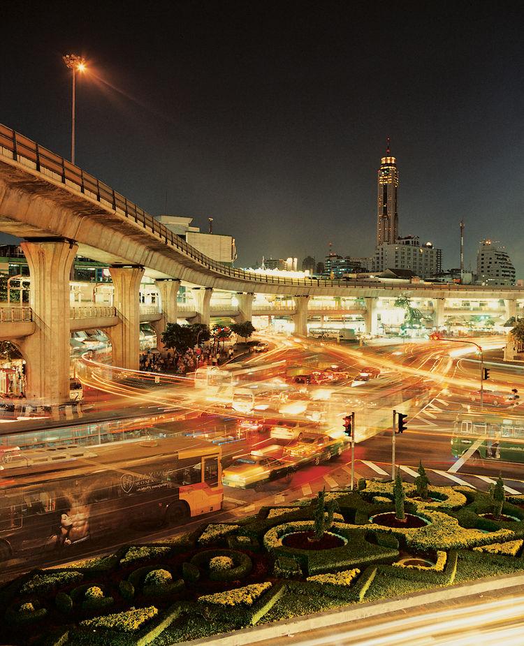 Bangkok cityscape Victory Monument