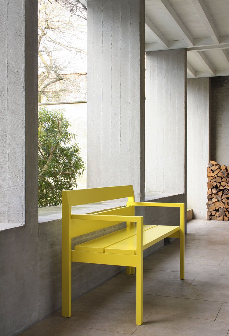 Labt-bench-yellow