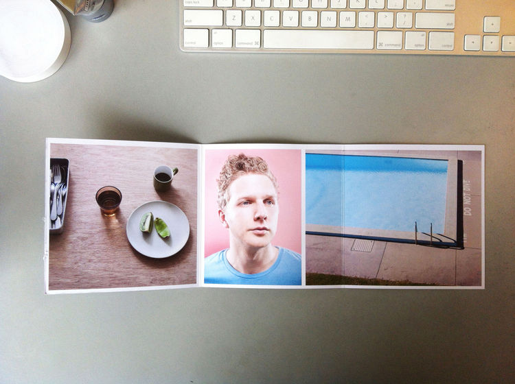 Inner fold of the photography promo mailer from Sean Fennessy from Melbourne, Australia in Promo Daily.