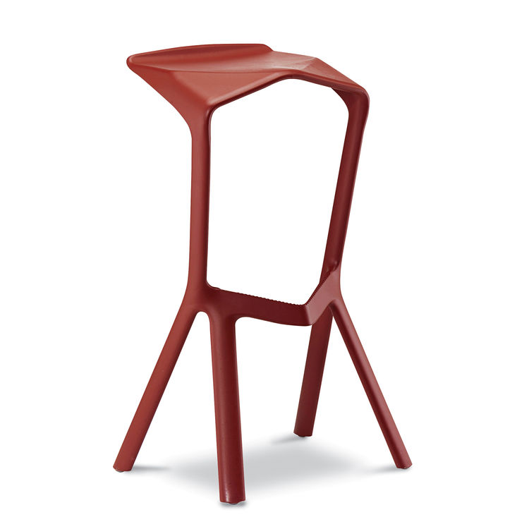 Miura barstool by Konstantin Grcic for Plank.
